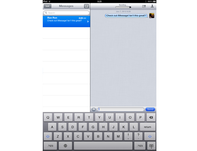 Use iMessage to Text
