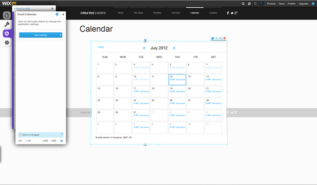 Add a Calendar to Your HTML5 Website
