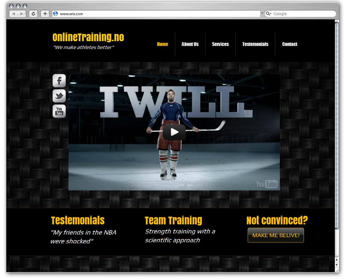 OnlineTraining.no | We make athletes better