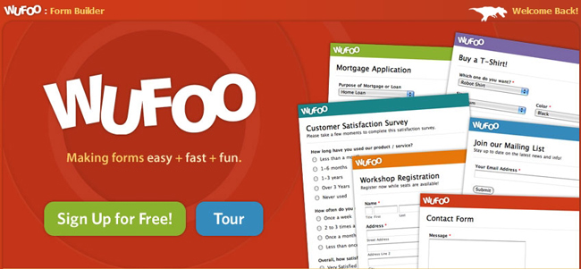 Wufoo Forms & Surveys