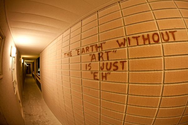 """Earth without art"""