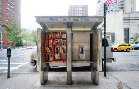 Little Phone Booth Libraries