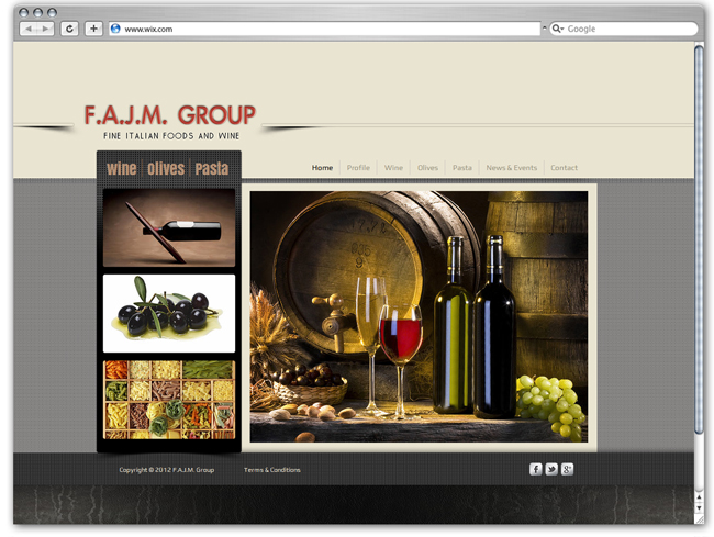 F.A.J.M. Group Designed by filmmusic