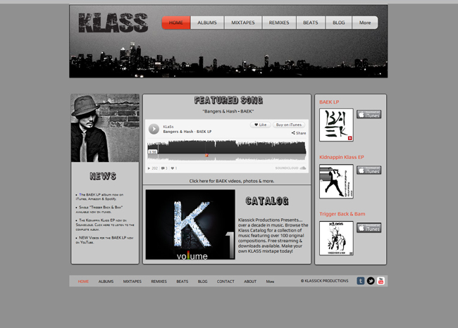 Klass SoundCloud app
