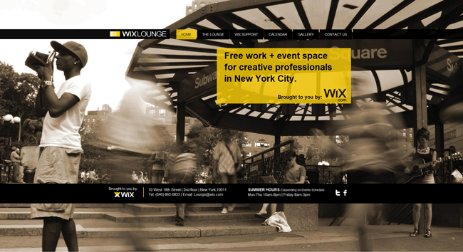 NYC Wix Lounge