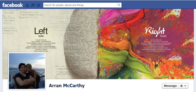 Facebook Cover By Arran McCarthy