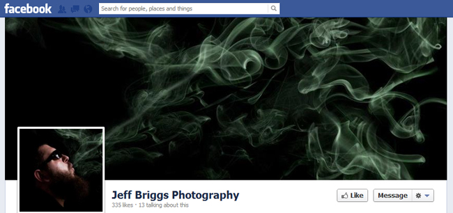 Facebook Cover By Jeff Briggs Photography