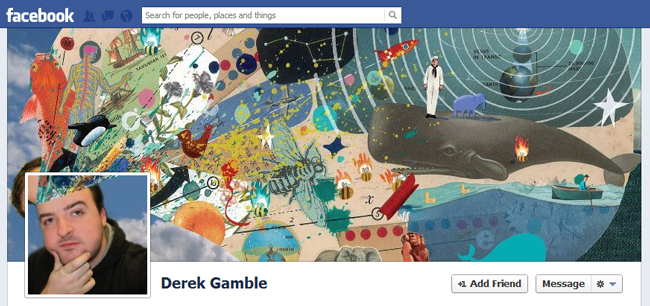 Facebook Cover By Derek Gamble
