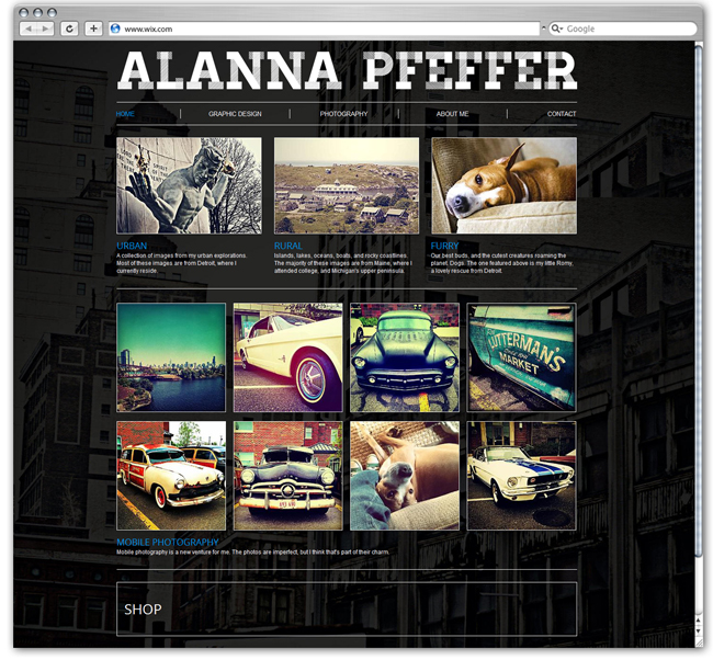 Alanna Pfeffer Designed by ampcreativedesign