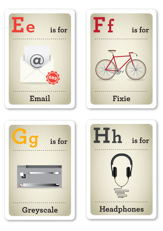 Design Nerds Flash Cards by Emma Cook