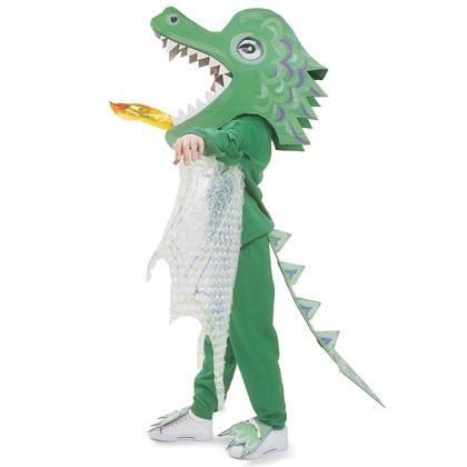 Fire breathing dragon costume