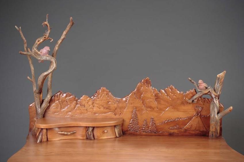 Desert Raven Art & Al Hone Sculpture