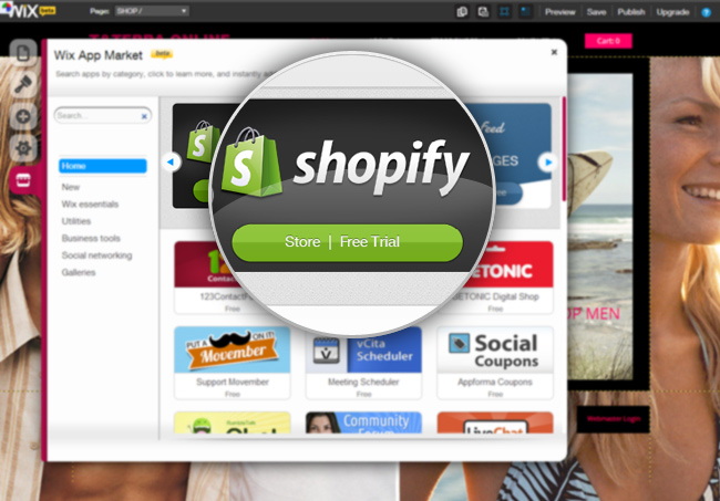 Shopify: New eCommerce App