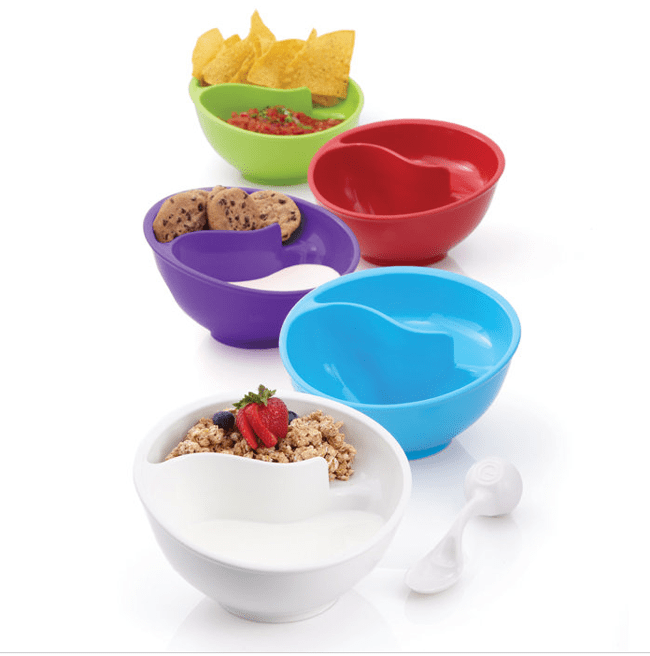 The Never-Soggy Cereal Bowl with SpoonIt