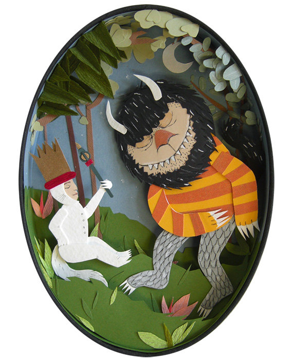 """""""Ruler of the Wild Things"""" by Jayme McGowan - 5x7 print"""