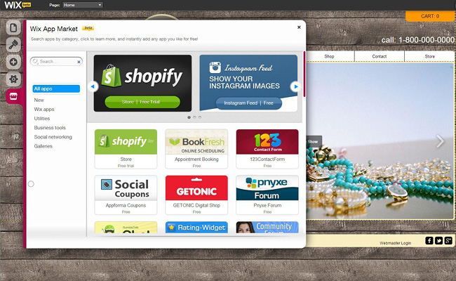 wix apps to boost your holiday special offers - shopify
