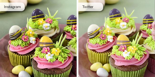 Instagram Photo Editor VS. Twitter