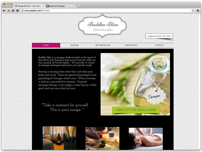 Beautiful Health and Wellness Websites Created using Wix