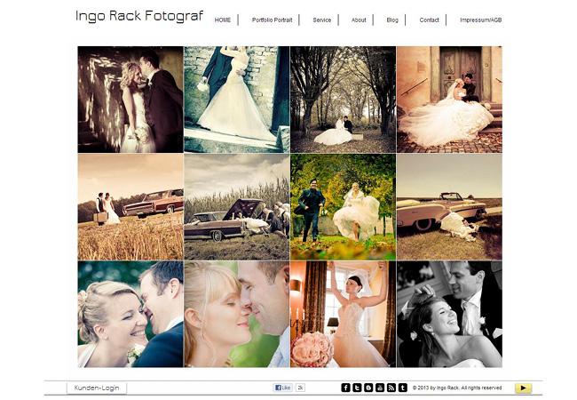 Unforgettable Wedding Websites