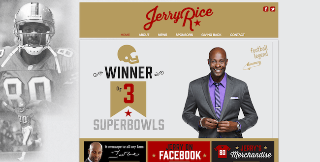 Jerry Rice Design-Off Winner