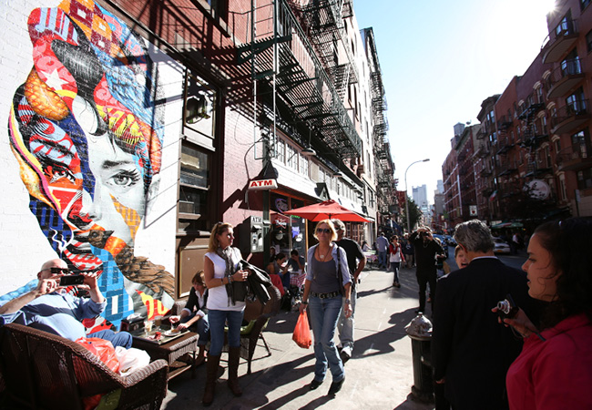 Wix.com and Friends Occupy Little Italy With Street Art