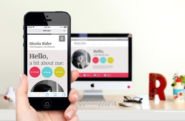 New Mobile Website Builder From Wix Better Faster And