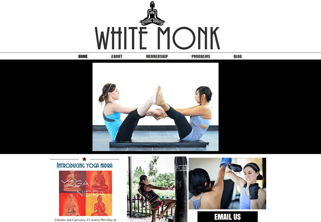 The White Monk