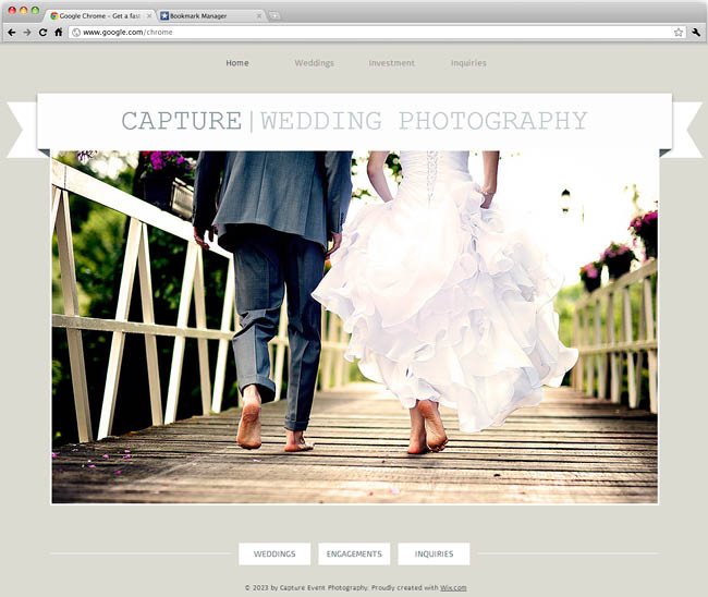 Wedding Photographer Template
