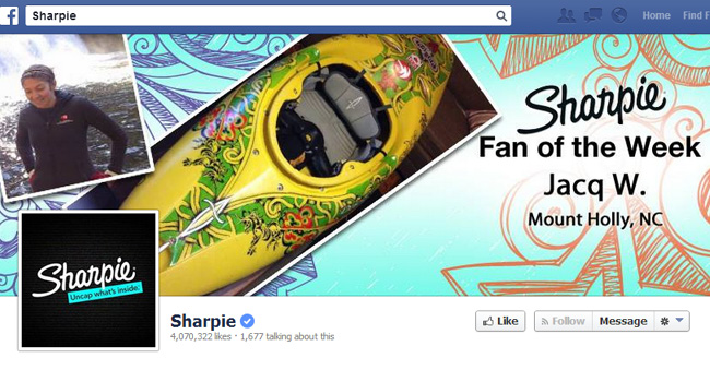 Sharpie Facebook Cover Photo