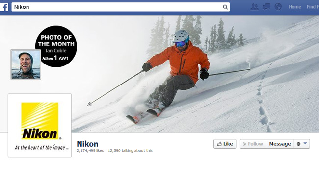 Nikon Facebook Cover Photo