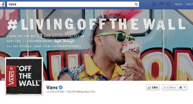 Vans Facebook Cover Photo