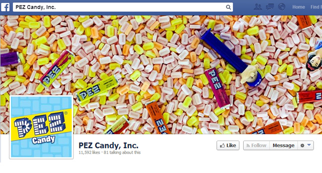 Pez Facebook Cover Photo