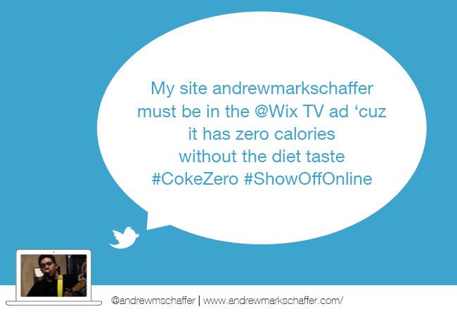 Wix #ShowOffOnline Challenge