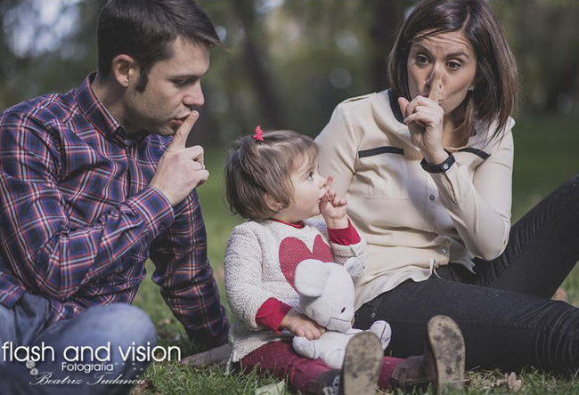 Family Photography Ideas - Flash and Vision