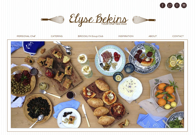 Elyse Bekins Wix Website designed by Karen Lerman