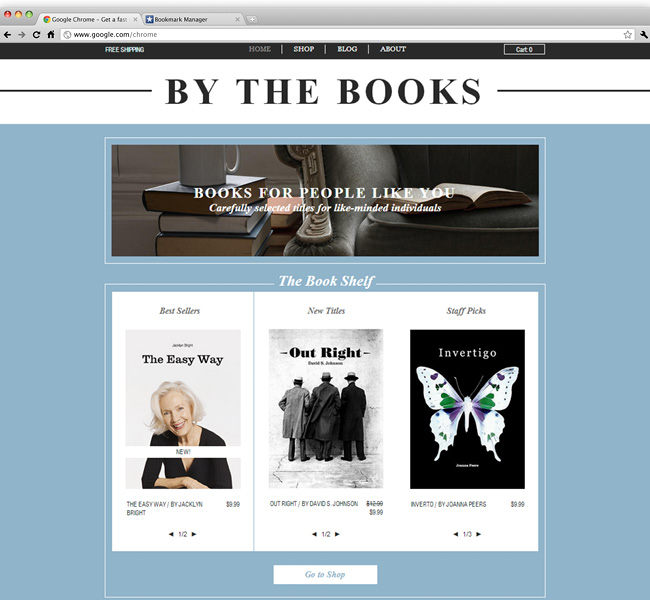 26 beautiful website templates for small businesses the book store cheaphphosting Images
