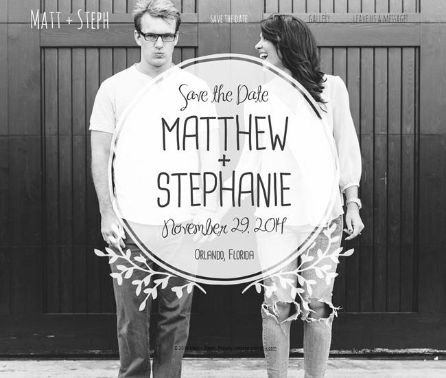 Matt + Steph