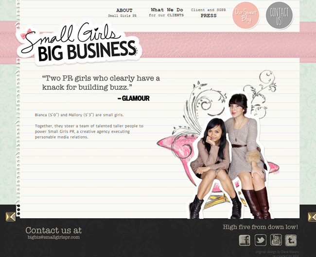 Creative web design ideas for your website for Fun blog ideas