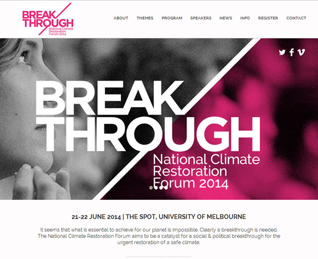 break through - Web Design Ideas