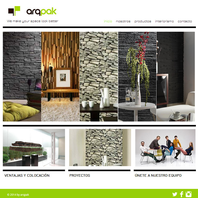 arqpak - Interior Design Portfolio Ideas