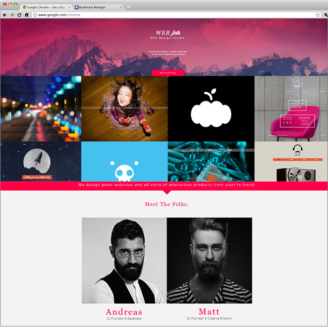 Web Design Studio Website