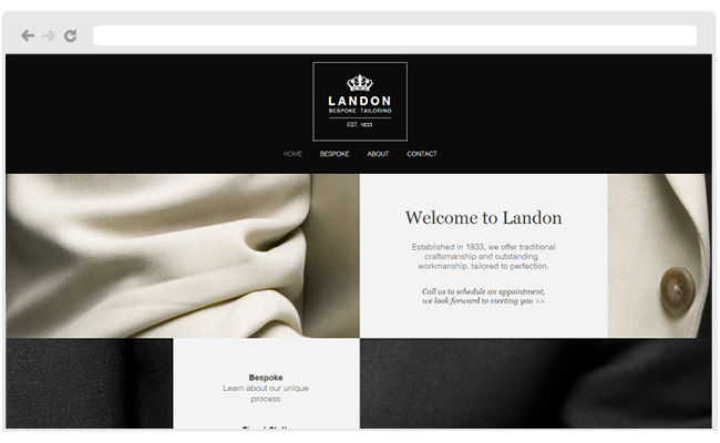 Tailor Website Template