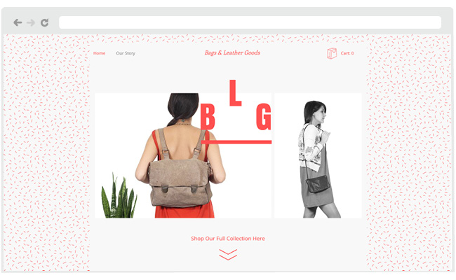 Bag and Leather Goods Template