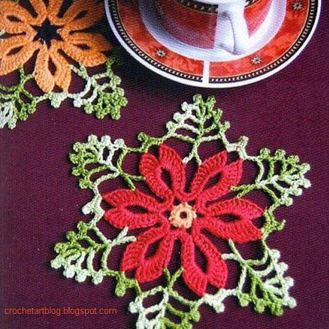 Star Crochet Doilies
