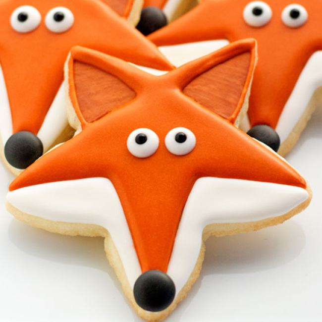 Fox Star Cookies
