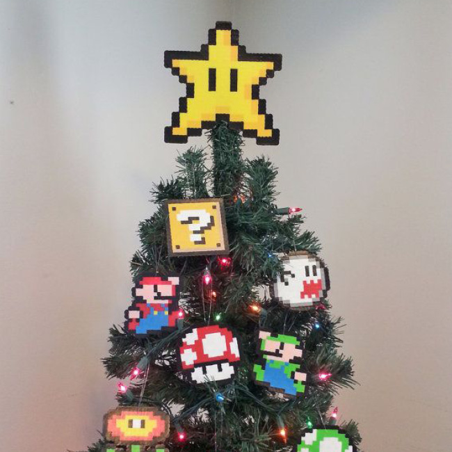 Super Mario Christmas Star