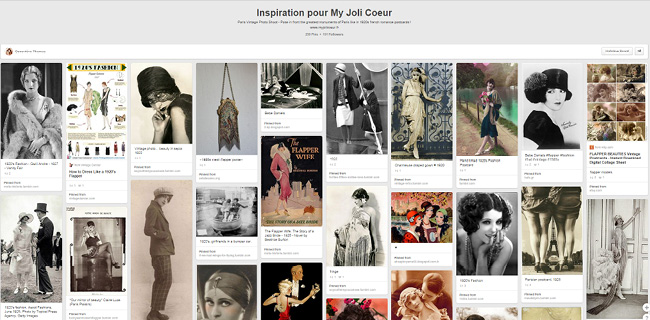 Genevieve Thomas | Inspiration Pour My Joli Coeur Board