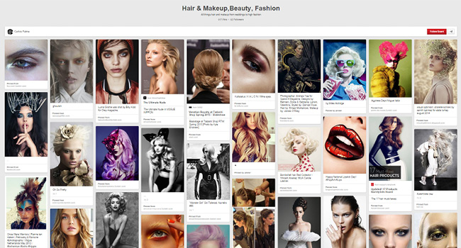 Carlos Palma | Hair and Makeup, Beauty, Fashion Board