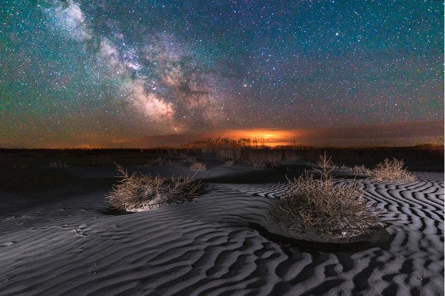 Stars in North Dakota by Marshall Lipp