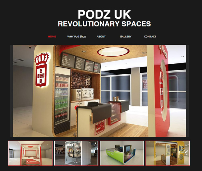 Podz UK - Revolutionary Spaces